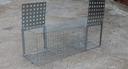 Jaula rectangular para urracas: 40 €