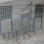 Caja trampa rectangular urracas: 42€