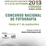 Intercaza 2013 abre hasta el próximo 7 de septiembre el plazo de su concurso nacional de fotografía