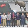 El consejero de Agricultura destaca los valores conservacionistas y éticos de la caza durante la entrega del Premio Juvenex a Ismael García