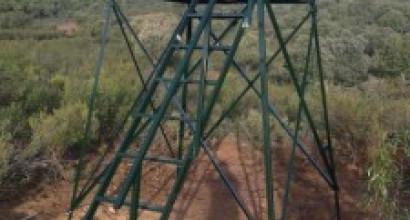Torreta 2 metros de altura, 1,20mx1,20m: 389 €