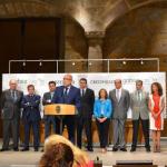Extremadura: Agricultura firma un convenio con once entidades financieras, Saeca y Extraval para facilitar créditos, ayudar a jóvenes agricultores y paliar situaciones de emergencia