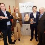 Santiago Ballesteros presenta su libro: Don Quijote: Gran madrugador y enamorado de la caza