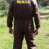 Mono marrón con serigrafía  Guarda Rural: 29 € (IVA incluido)