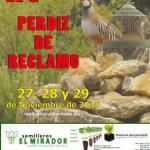 La XV Feria de la Perdiz de Reclamo prevé atraer a más de 5.500 visitantes