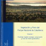"""El libro """"Vegetación y flora en el Parque Nacional de Cabañeros"""" analiza las diferentes comunidades vegetales que componen el paisaje del Parque"""