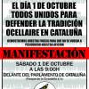 La ONC se suma a la manifestación en defensa del silvestrismo convocada el 1 de octubre en Barcelona