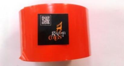 Cinta naranja - señalización puestos: 12,5 €/rollo