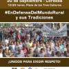 El mundo rural exigirá respeto en una movilización histórica en Córdoba