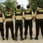 Toda la equipación de guarda rural