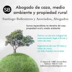 Abogados Santiago Ballesteros y Asociados, especialistas en derecho de caza y propiedad rural