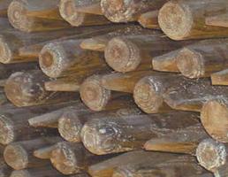 postes conicos-estacas