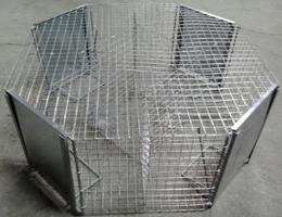 jaula octogonal nueva