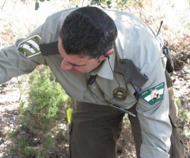 guarda de coto de caza en andalucia