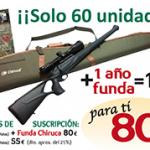 Trofeo Caza te regala una funda porta - armas Chiruca
