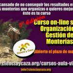 Ciencia y Caza organiza un curso on-line sobre 'Organización y Gestión de Monterías'