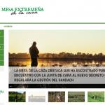 La Mesa de la Caza Extremeña crea una página web en apoyo al sector