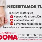 Fundación Artemisan y la Federación Española de Caza inician una campaña de recogida de fondos para el proyecto Cáritas ante el Coronavirus